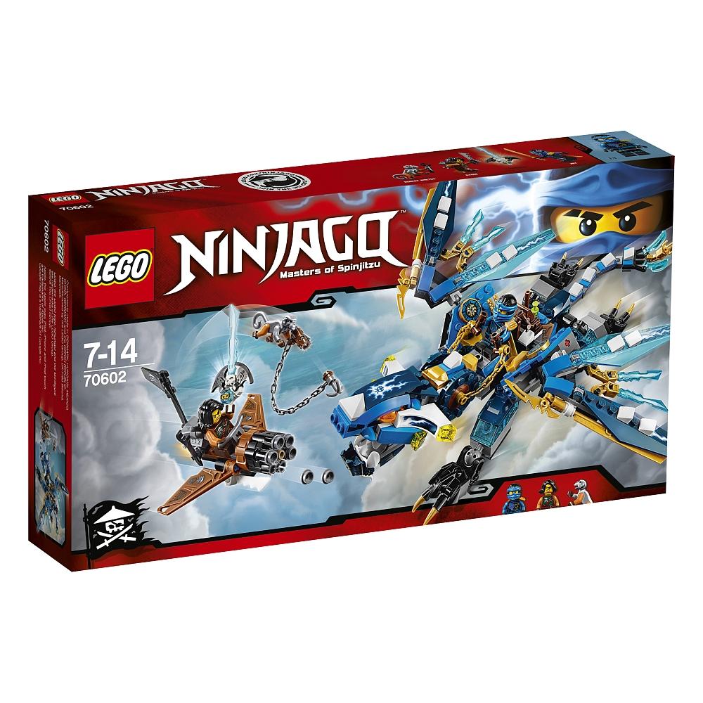 Lego Ninjago - 70602 Jays Elementardrache für 19.98€ bei Abholung @ToysRUs