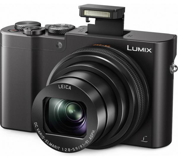 Panasonic Lumix DMC-TZ100 für 541,40€- 20 Megapixel Kompaktkamera mit 10-fach optischem Zoom