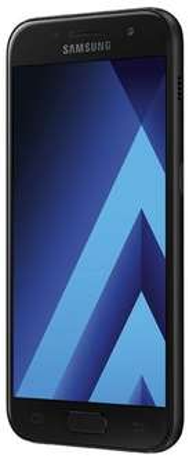 Samsung Galaxy A3 (2017), 4,7 Zoll Smartphone, 16 GB, Schwarz (Bestpreis laut idealo)