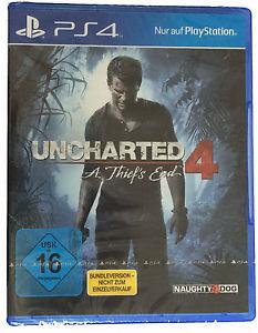 Sony Playstation 4 - Uncharted 4 für 19,95€ (Bundle-Version)