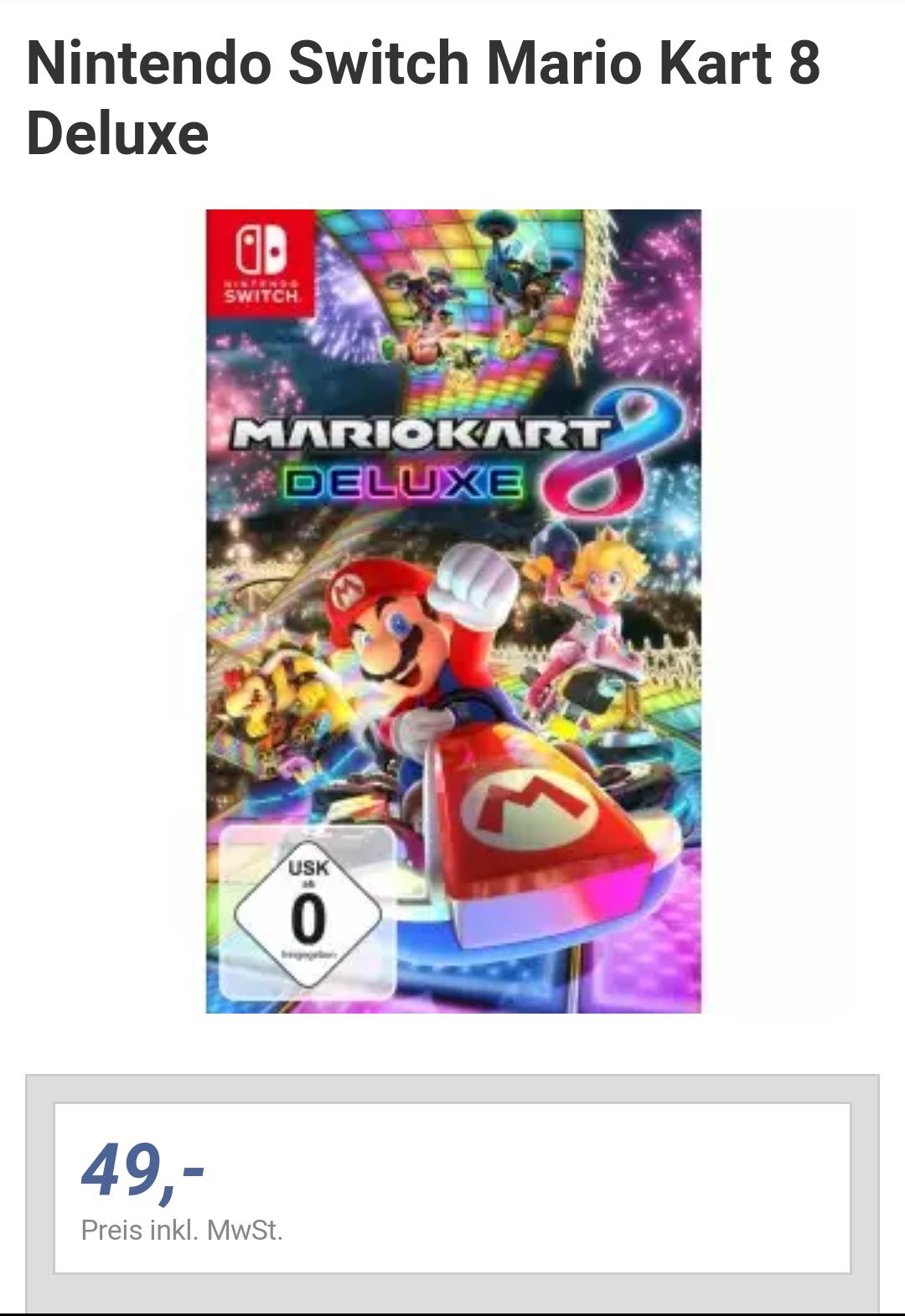 [Lokal: expert Jakob] Mario Kart 8 Deluxe für 49€