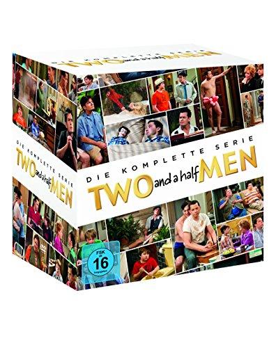 Two and a Half Men Komplettbox Staffeln 1 bis 12 (40 DVDs)