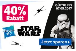 Toysrus 40% auf alle Hasbro Star Wars Artikel z. b. Star Wars - Rogue One: Interaktiver Droide, Smart R2-D2 (B7493)