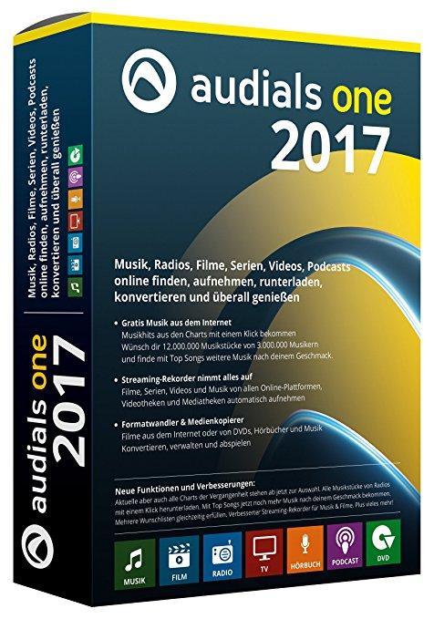 Audials One 2017 zum Bestpreis
