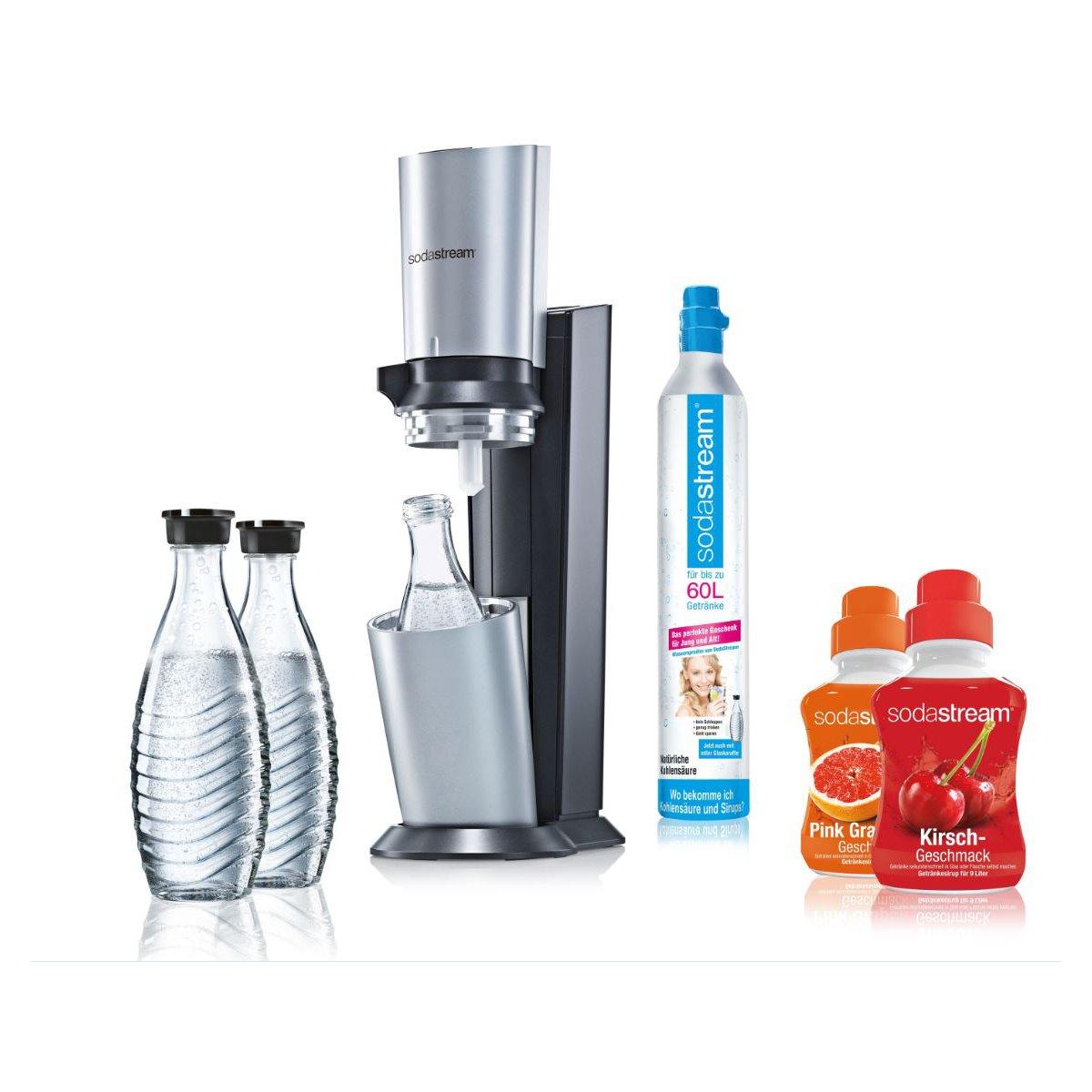 SodaStream Crystal Design Super-Spar-Pack Wassersprudler für 79,99€ [Rakuten]