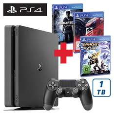 Playstation 4 - 1TB - + Uncharted 4 + Driveclub + Ratchet & Clank