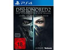 Dishonored 2: Das Vermächtnis der Maske (Exklusives Metal Plate Pack) (Xbox One & PS4) für je 25,00€ (Media Markt)