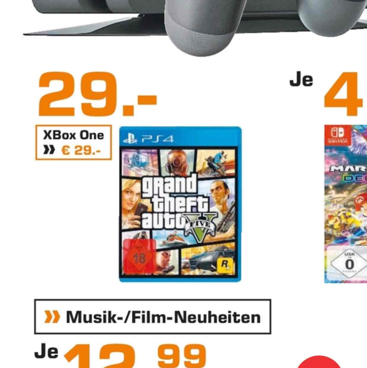[ Lokal Saturn Märkte Hamburg und Umgebung ] GTA 5 PS4 oder Xbox One für 29€