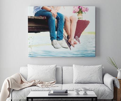 Foto auf Leinwand 100 x 75 cm meinfoto.de