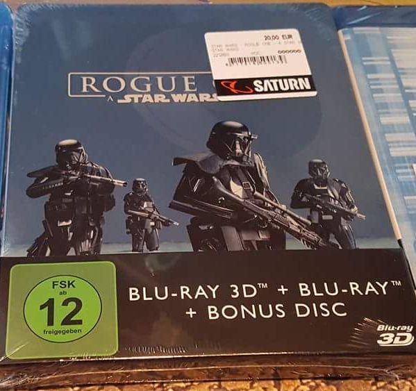 [Lokal Berlin] Rogue One - A Star Wars Story [3D Steelbook]