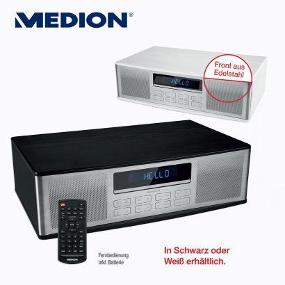 [ALDI Nord; evtl. lokal Mettmann/Velbert]: Medion Life P64000 / MD 43180 streamingfähiges Micro Audio-System. PVG 79,99€