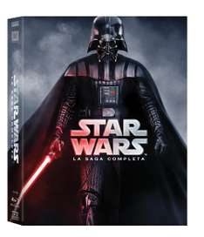 Star Wars: Saga I-VI (9x Blu-ray) (OT) für 38,12€ (Amazon.it)