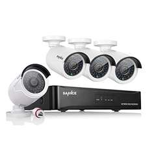 SANNCE 4CH 4x 960P IP Nachtsicht Kameras POE Überwachungsset