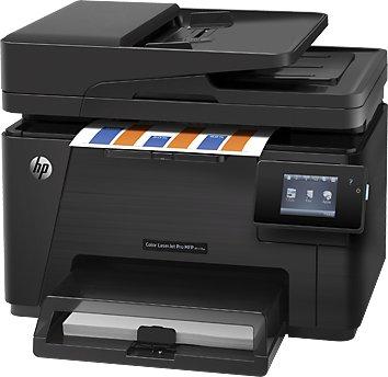 HP Color LaserJet Pro M177fw - Farblaser-Multifunktionsdrucker mit WLAN
