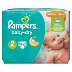 Pampers Baby-Dry Gr. 2,3-6kg (4x 42 Windeln) für 25,22€ (Amazon.fr)