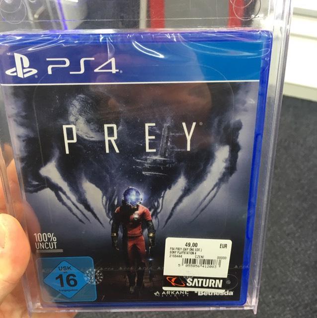 Prey für die PS4 Saturn Norderstedt (lokal)