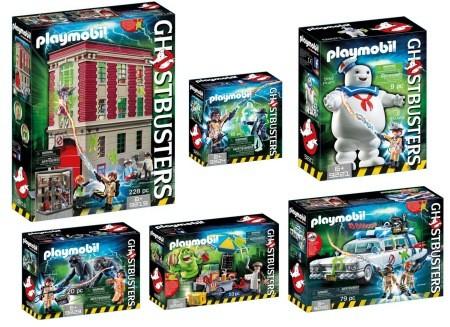 Playmobil Ghostbusters 6tlg. Set - ab Mitte Mai -20%