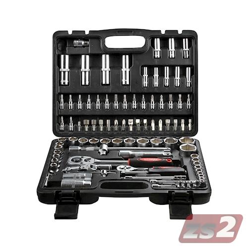 CMX Werkzeugkoffer 94-tlg. Steckschlüssel Satz Nusskasten Ratschen Set