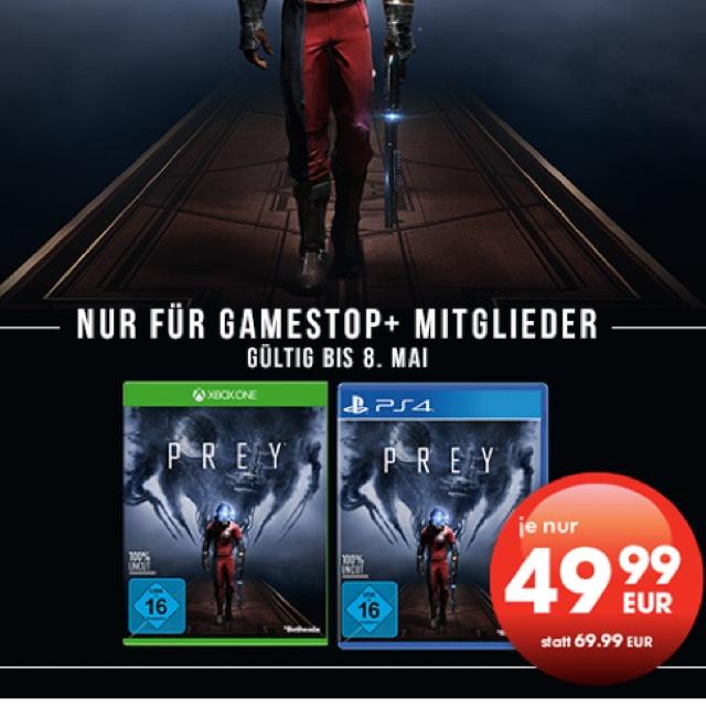PREY (PS4 / XBOX ONE) für 49,99€ als GameStop+ Mitglied