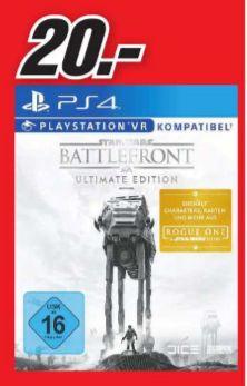 [Lokal Mediamarkt Köln-Marsdorf] Star Wars: Battlefront - Ultimate Edition (Playstation 4) für 20,-€