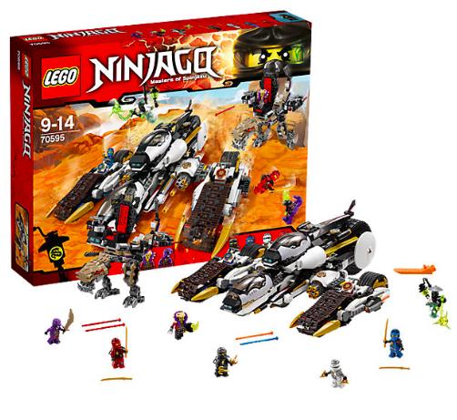 15% Rabatt auf Lego bei [Mytoys] z.B. Lego Ninjago 70595 Ultra-Tarnkappen-Fahrzeug für 59,04€ inkl. VSK