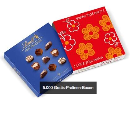 Amazon-Gutschein (20€) kaufen und eine von 5.000 Pralinen-Boxen von Lindt gratis bekommen
