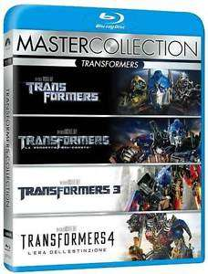 [ebay] Transformers 1-4 - Quadrologie Box 1 2 3 4 BLU-RAY - NEU - DEUTSCH (IT Import) 14,99 € inkl.Versand