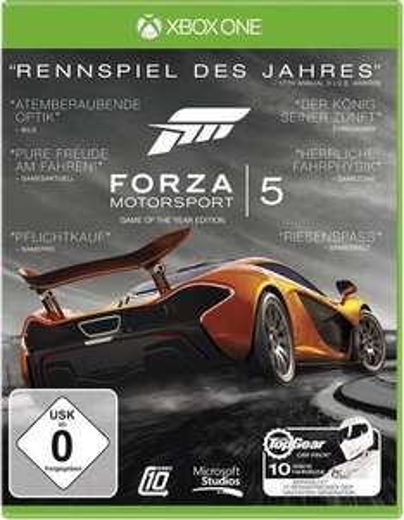 Forza Motorsport 5: Game of the Year Edition (Xbox One) für 14,15€ (Conrad Filiale)