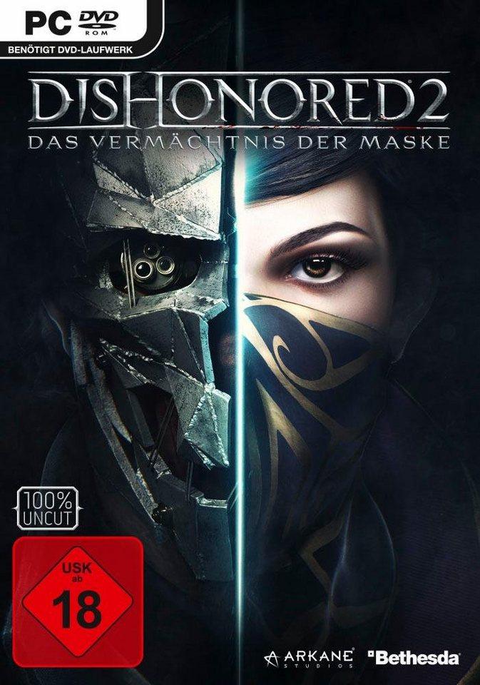 Dishonored 2 (PC) *physisch* für 17,99 inkl. Versand (nur Otto-Neukunden)