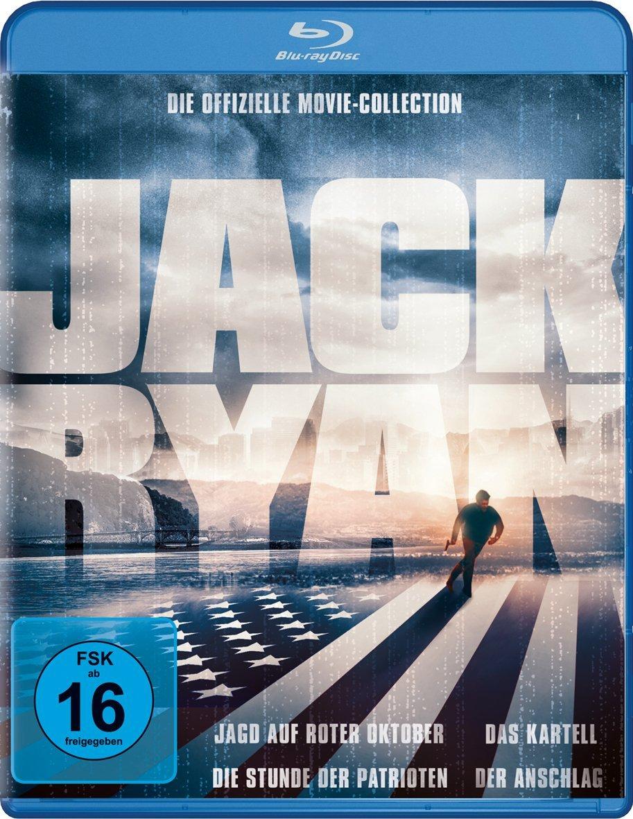 Jack Ryan Box (Jagd auf roter Oktober + Das Kartell + Die Stunde der Patrioten + Der Anschlag) (Bluray) für 11,97€ [Amazon Prime]
