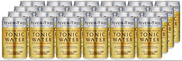 Fever Tree Tonic Water 24 Dosen 0,15l für 16,99€ + 6€ Pfand - 67 cent je Dose - Perfect für Gin Tonic [amazon Prime]