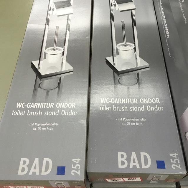 Axentia Bad WC-Garnitur Ondor, verchromt lokal toom Münster