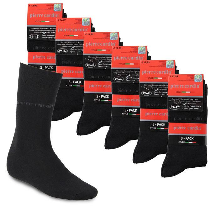 18 Paar Pierre Cardin Herrensocken Strümpfe Socken Gr. 39-42 & 43-46