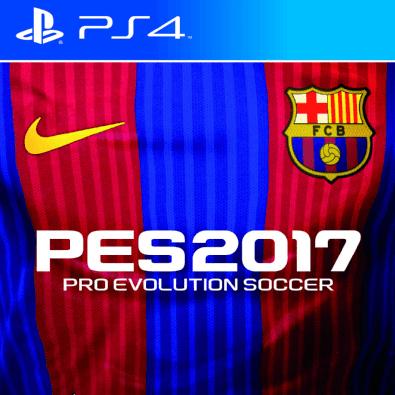Pro Evolution Soccer 2017 (FC Barcelona Edition Steelbook Edition) (PS4)
