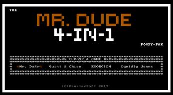 [itch.io] Mr. Dude 4-in-1