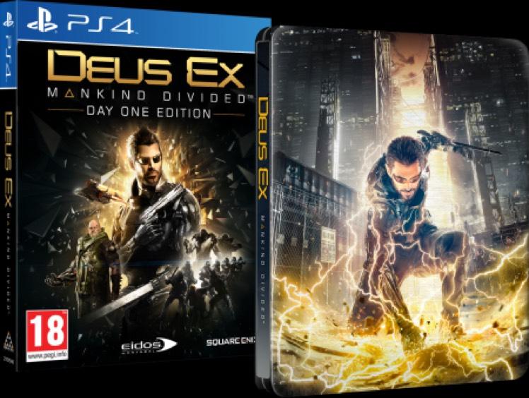 Deus Ex: Mankind Divided - Day One Edition [PS4] für 11,90€ | Michael Kreft Videospiele