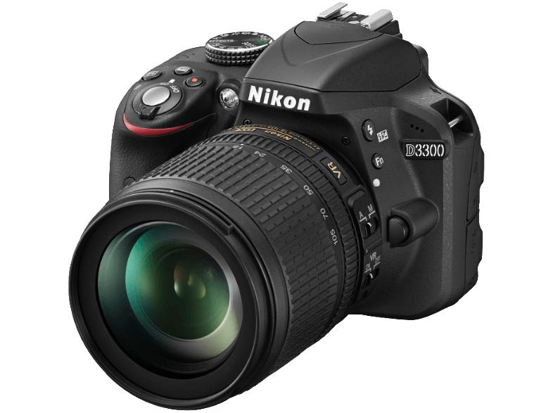 NIKON D3300KIT AF-S DX 18-105 VR schwarz für 459€ [mediamarkt.at]