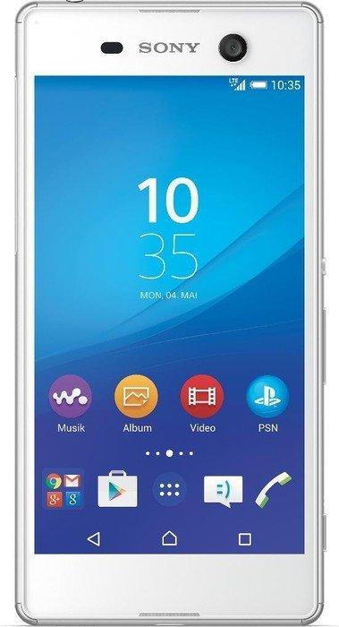 Sony Xperia M5 LTE (5'' FHD IPS, Helio X10 Octacore, 3GB RAM, 16GB eMMC, 21,5MP + 13MP Kamera, IP65/68, 2600mAh, Android 6) ab 143,10€ [Medion]