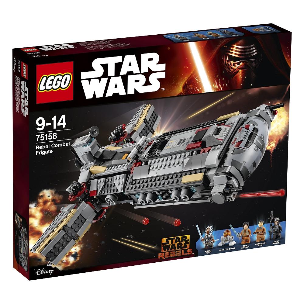 Lego Star Wars - 75158 Rebel Combat Frigate für 79,98€ bei [ToysRUs]