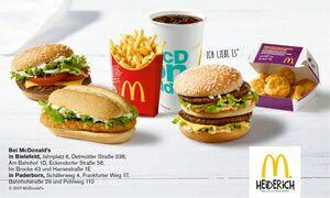 McDonald's Gutscheine 30% Rabatt bei Groupon, für Bielefeld oder Paderborn