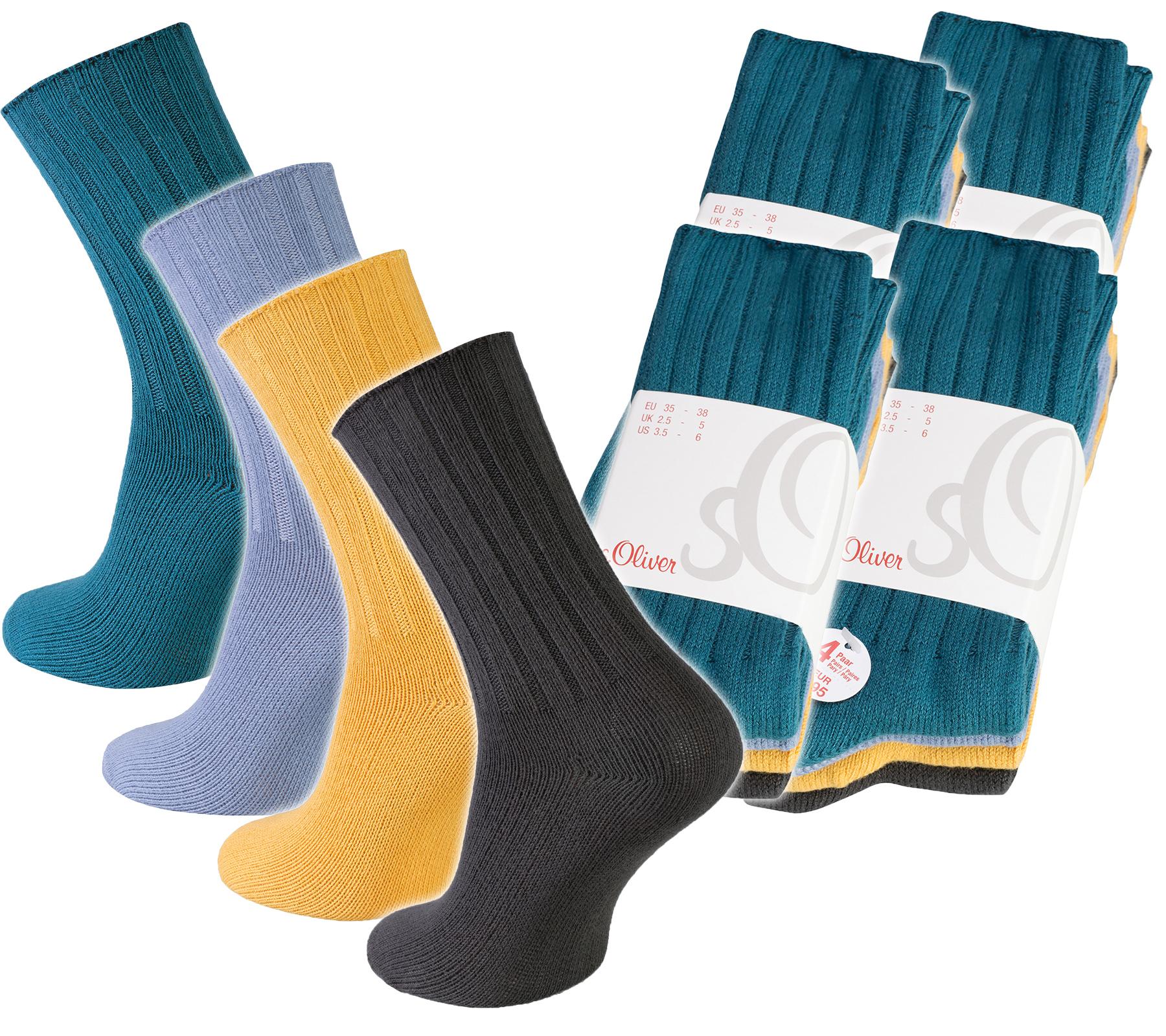 16er Pack Damensocken von S.Oliver mit viel Baumwolle für 7,99€ statt 47,99€ @Outlet46