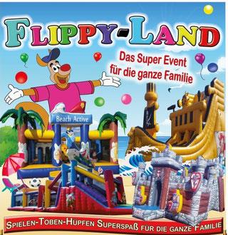 Freikarten und Ermäßigungen Hüpfburgenland FlippyLand