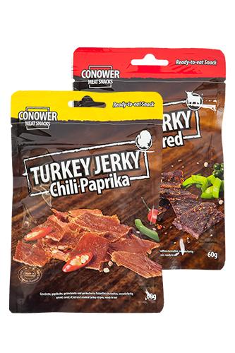 [RESTPOSTEN/MHD] Conower Turkey/Beef Jerky 2,46 KG für 40,59€