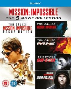 Mission Impossible - 1-5 Boxset (Blu-ray) für 14,08€ inkl. VSK (Zavvi)