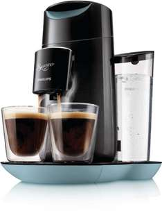 Senseo HD7870/60 Twist Kaffeepadmaschine (Touchpanel) schwarz/blau (Amazon.de)