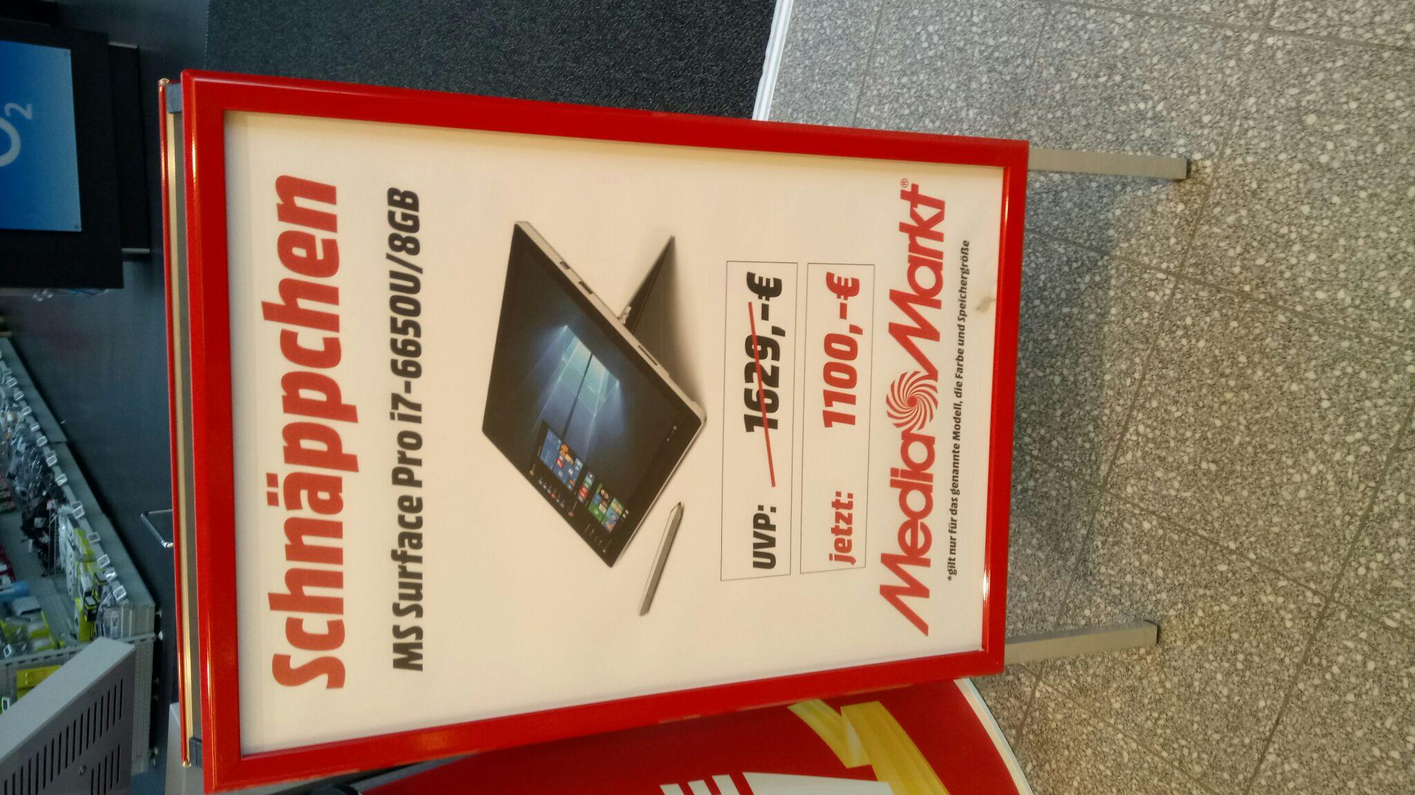 Microsoft surface Pro i7 / 8gb - Lokal Media Markt. (21244 Buchholz)
