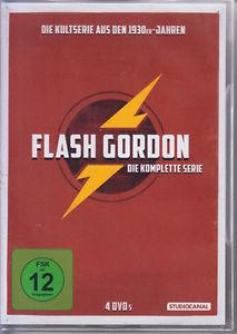 Flash Gordon (30er Jahre) Die komplette Serie (4 DVDs) für 13,00€ inkl. VSK (eBay)