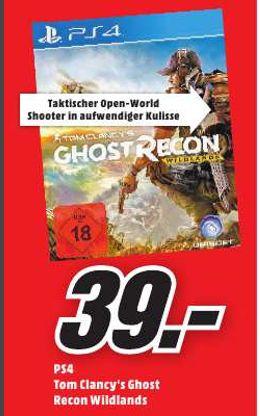 [Lokal Mediamarkt Krefeld-Tagesangebot] Tom Clancy's Ghost Recon Wildlands [PS4] für 39,-€