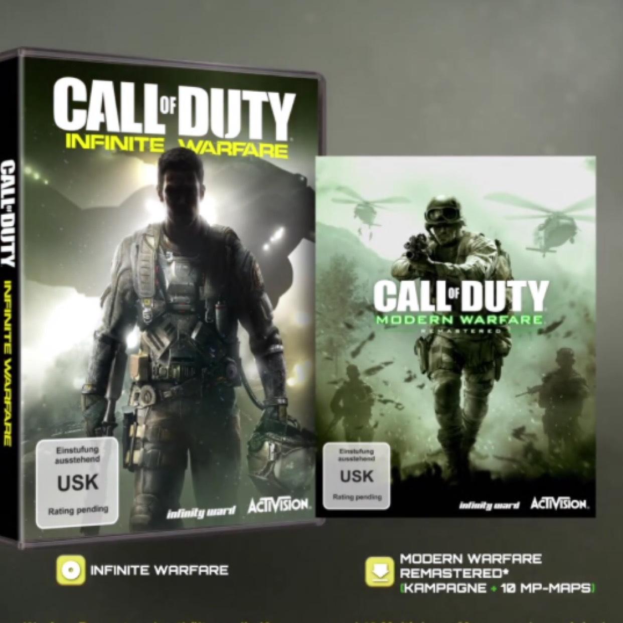 Call of Duty Infinite Warfare Legacy Edition - Saturn Fürth