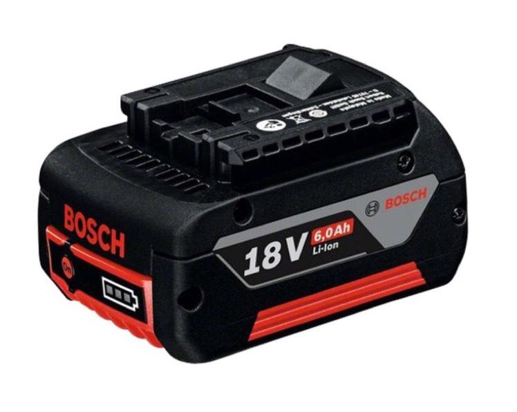 Bosch Akkupack GBA 18 Volt, 6.0Ah, M-C 1600A004ZN